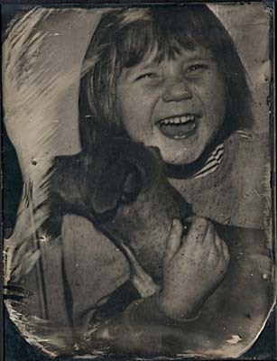 Ambrotype by Christina Edwards.
