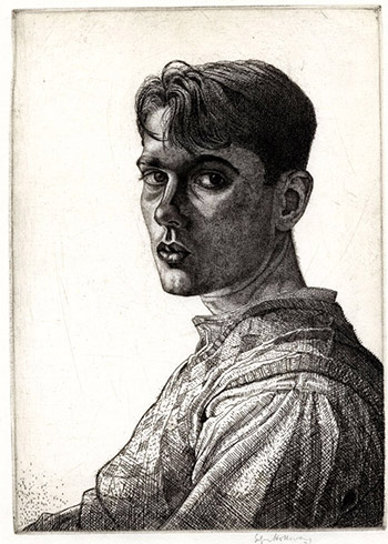 Edgar Holloway, Self Portrait No.6, 1932
